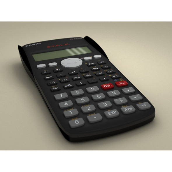 Casio Scientific Calculator - 3DOcean Item for Sale