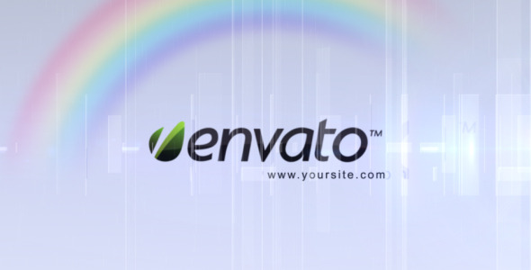 After Effects Project - VideoHive Elegant Rainbow Logo Reveal 260993