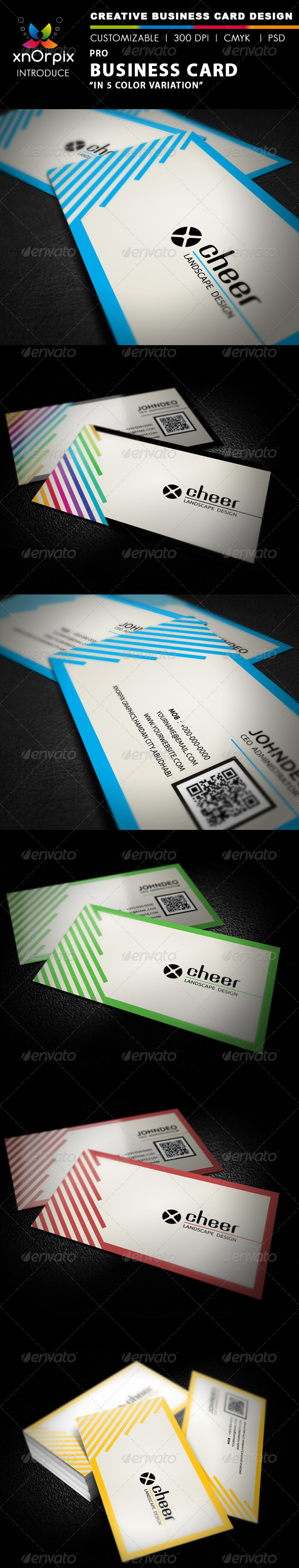 Pro Business Card - Business Cards Print Templates