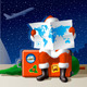 Santa's Christmas Travel - GraphicRiver Item for Sale