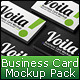 Voila Business Card Mockup Pack - GraphicRiver Item for Sale