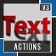 Text Shadow Action - GraphicRiver Item for Sale