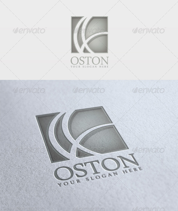 Oston Logo - Vector Abstract