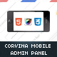 Corvina Mobile Admin HD | HTML5 &amp;amp; CSS3 And iWebApp - ThemeForest Item for Sale