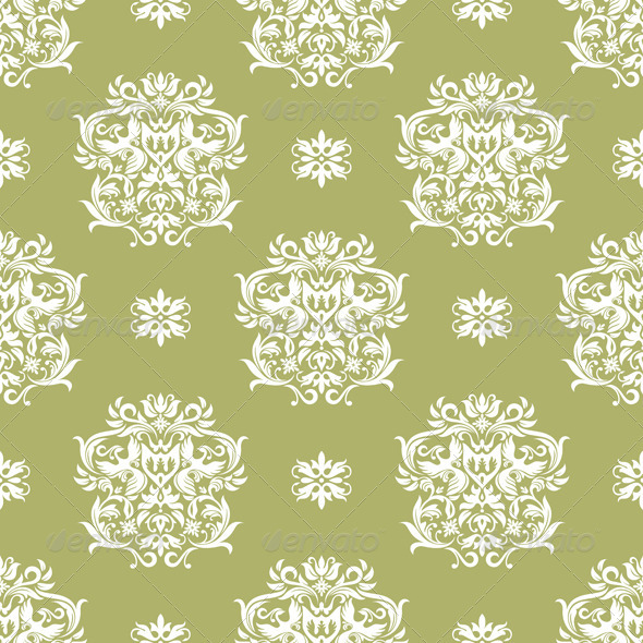Seamless Retro Wallpaper - Patterns Decorative
