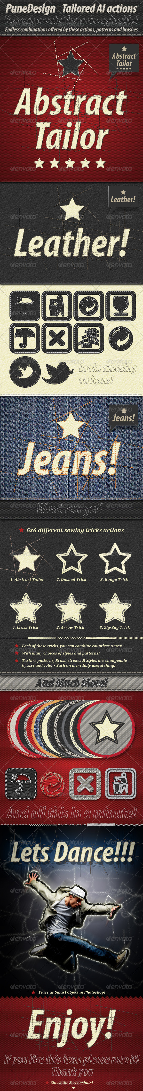 GraphicRiver Tailored Illustrator Actions 2305135