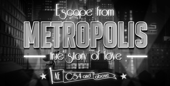 After Effects Project - VideoHive Escape from Metropolis & Bonus 2305393