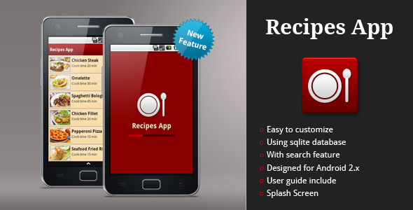 Top10 android apps of 2012 to download with source code android recipes app is an application under android platform which can be used to create application about food recipes if you plan to create an application about forumfinder Image collections