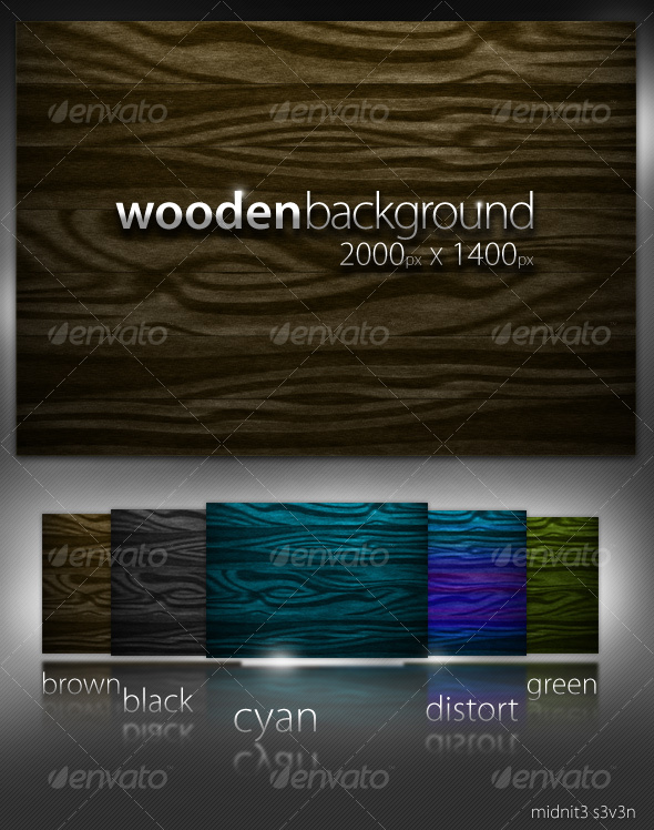 Wooden Background - Backgrounds Graphics
