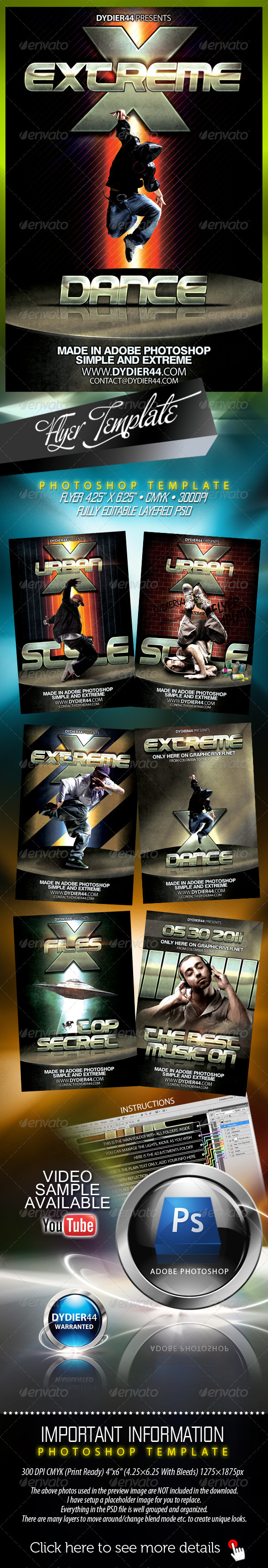 Urban Style (Flyer Template)  - Clubs & Parties Events