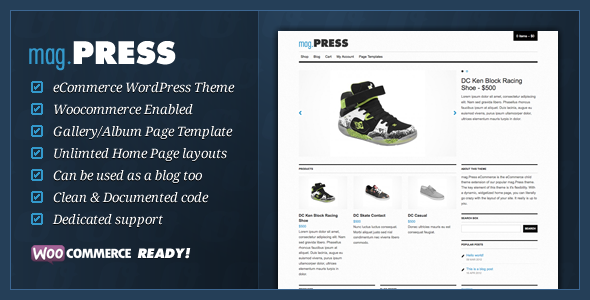 ThemeForest mag.Press eCommerce WordPress Theme 2295308