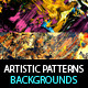 Canvas Artistic Backgrounds & Patterns Vol.2 - GraphicRiver Item for Sale