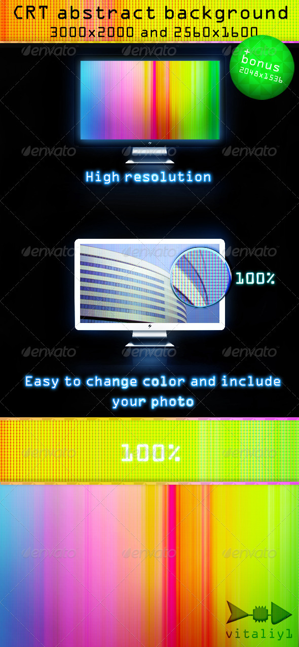 Crt Abstract Background - Backgrounds Graphics
