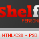 Shelfolio | HTML + CSS + jQuery - ThemeForest Item for Sale