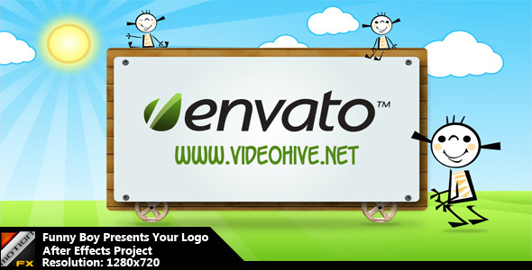 VideoHive Funny Boy Presents Your Logo 2297574