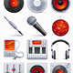 Sound icon set - GraphicRiver Item for Sale