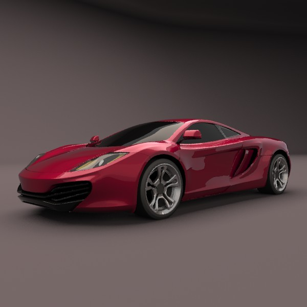Restyled Mclaren mp4-12C - 3DOcean Item for Sale