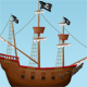Pirate Ship Illustration - GraphicRiver Item for Sale