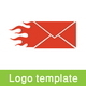 Fast Mail Logo Template - GraphicRiver Item for Sale