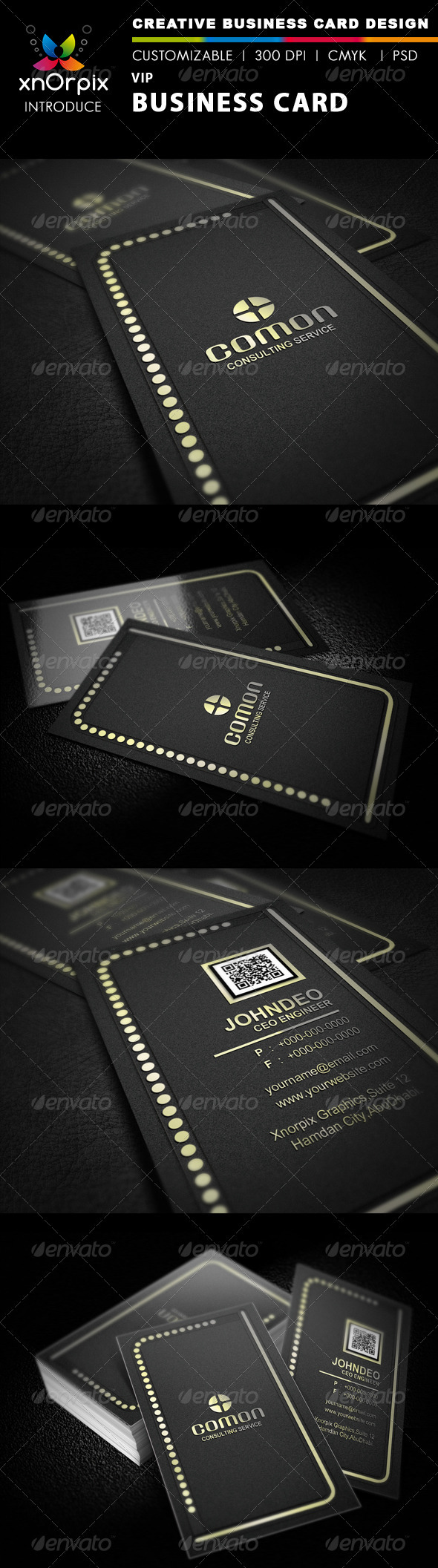 VIP Business Card - Business Cards Print Templates