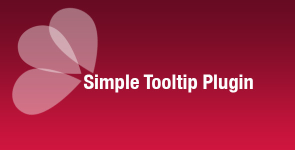CodeCanyon Simple Tooltip Plugin 248220