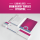 City Capital Brand Template - GraphicRiver Item for Sale