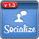 Socialize Social Button Kit - GraphicRiver Item for Sale