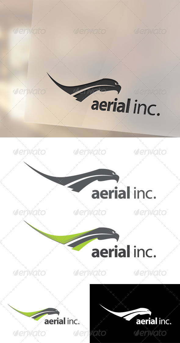 Aerial Logo Template - Animals Logo Templates