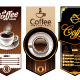 Three coffee design templates - GraphicRiver Item for Sale