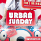 Urban Sunday Flyer Template - GraphicRiver Item for Sale