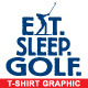 Golf Vector T-shirt Graphic - Template - GraphicRiver Item for Sale