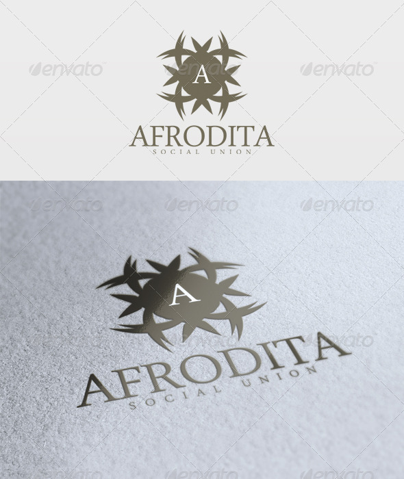 Afrodita Logo - Letters Logo Templates