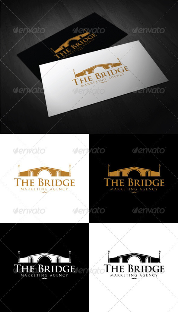 The Bridge - Buildings Logo Templates
