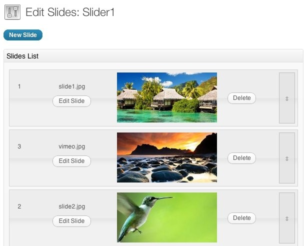 KenBurner Slider WordPress Plugin