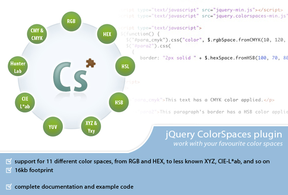 ColorSpaces - CodeCanyon Item for Sale