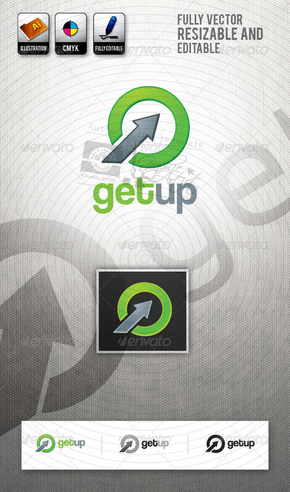 GetUp Logo Template - Abstract Logo Templates