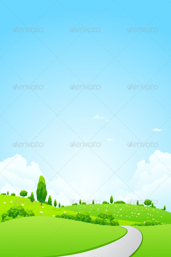 Green Landscape - Landscapes Nature