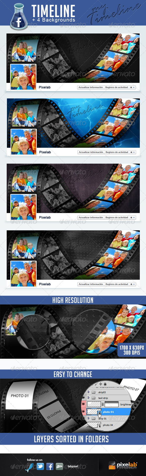 GraphicRiver Facebook Timeline camera photos 2332605