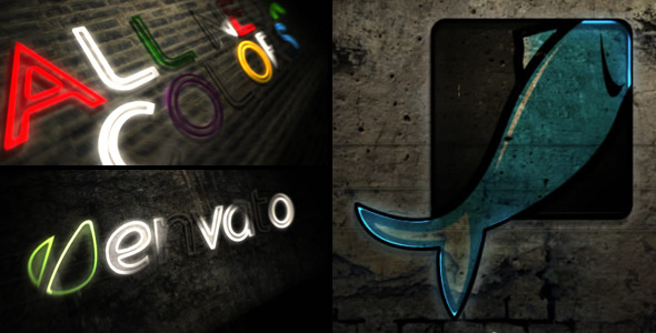 After Effects Project - VideoHive Neon Logo Reveal 2335097