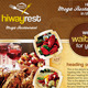 Hiway Modern Foods Flyers - GraphicRiver Item for Sale