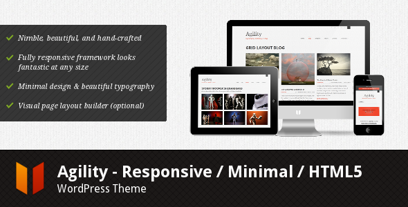 Agility - Responsive HTML5 WordPress Theme - Business Corporate