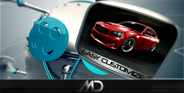 After Effects Project - VideoHive Robo Screens 2337742
