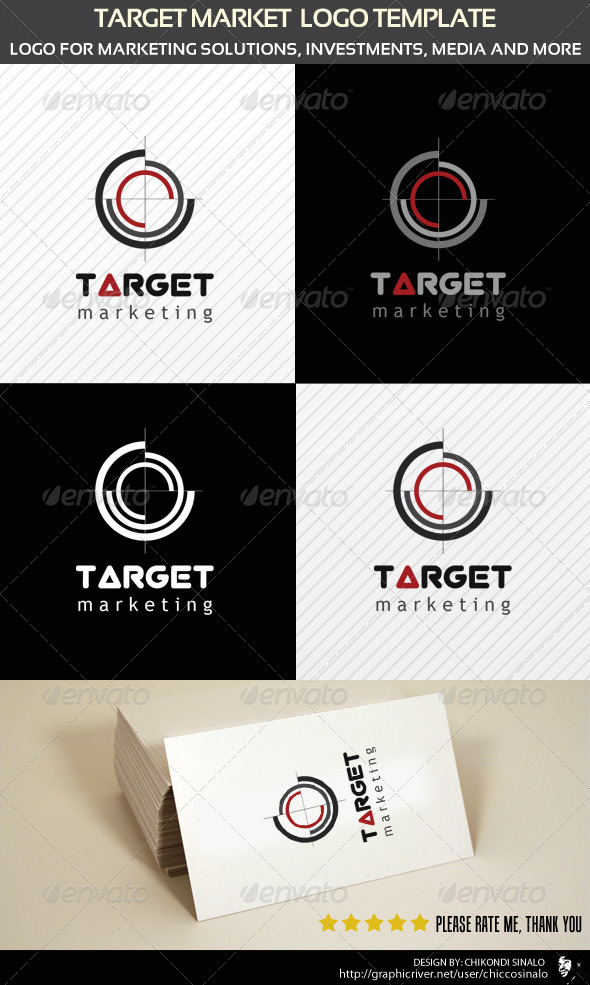 Target Logo Template - Abstract Logo Templates