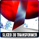 Sliced 3D Transformer - GraphicRiver Item for Sale