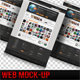 Super Clean Web Mock-Up - GraphicRiver Item for Sale