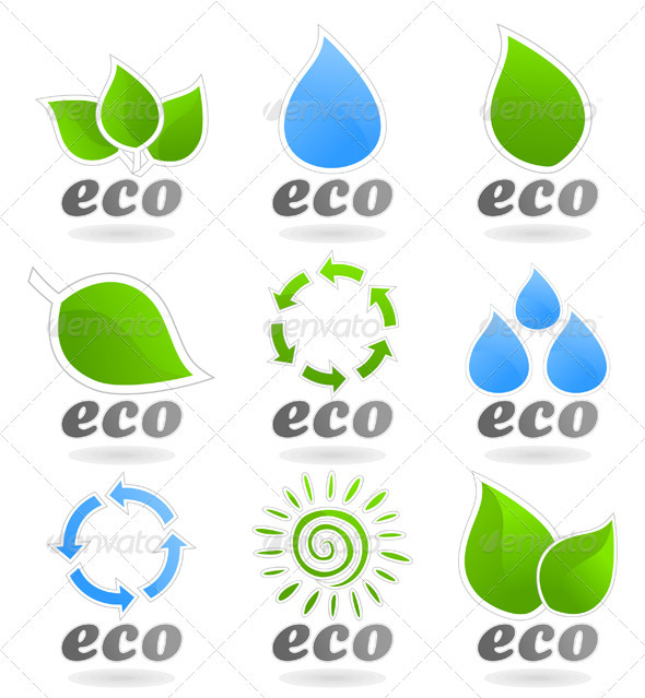 Ecology icon - Flowers &amp; Plants Nature