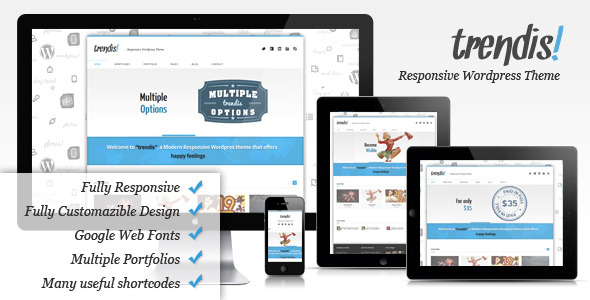 Trendis Responsive Wordpress Theme