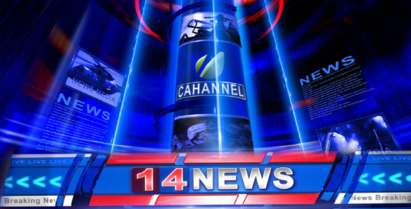 VideoHive Broadcast Design Breaking News Open 2347430