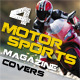 4 Motorsports Magazine Covers - GraphicRiver Item for Sale