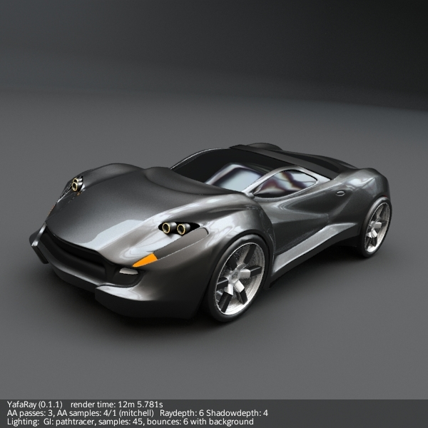 3DOcean Coupeo concept car 265613
